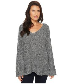 557343573409a2 TWO BY VINCE CAMUTO Long Sleeve Wide Cuff V-Neck Ribbed Sweater.   twobyvincecamuto  cloth