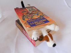 Splat Basset hound bookmark needle felted by BenMcfuzzylugs