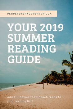 Your 2019 Summer Reading List & Beach Read Guide Looking for a summer reading guide to help add books to your summer reading list for Check out this group of beach reads for Books for women, books for adults! A great list of must read summer reads for Summer Reading Lists, Beach Reading, Happy Reading, New Books, Good Books, Books To Read, Air France, Toddler Travel, Travel With Kids
