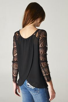 Lace Felicia Top   Awesome Selection of Chic Fashion Jewelry   Emma Stine Limited