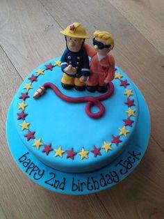 Fireman Sam and Tom Thomas Cake