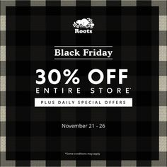 is here at At Roots enjoy off the entire store 6 daily offers! Some conditions may apply. Daily Specials, Dartmouth, May, Black Friday, 30th, Roots, Conditioner, How To Apply, Google Search