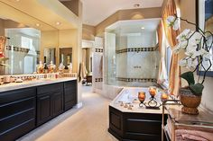 I love big bathrooms :) since mine is the smallest in america!