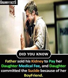 True fact of life - granny facts did you know father sold his kidney to pay Wow Facts, Wtf Fun Facts, True Facts, Funny Facts, Random Facts, General Knowledge Facts, Knowledge Quotes, True Quotes About Life, Life Quotes