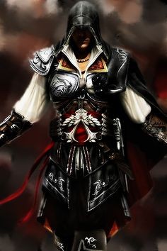 A Real Face off! Ezio Auditore da Firenze V Solid Snake Tatouage Assassins Creed, Assassins Creed Series, Assassin's Creed Hd, Assassin's Creed Wallpaper, Epic Drawings, Fantasy Warrior, God Of War, Video Games, Anime