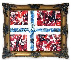 Martin Whatson All Over The World, Stencils, Flag, Canvas, Artist, Home Decor, Kunst, Tela, Decoration Home