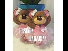 Ursa Bailarina de Feltro - YouTube