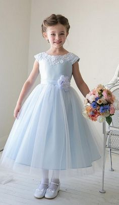 Children Clothing Girl Kids Clothes Lace Flower Girls Dress for Wedding Events Party Baby Girl Birthday