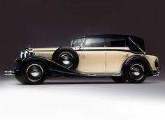 1930 - 1934 Maybach Zeppelin DS8 4-door Cabriolet