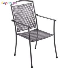 A Domino szék ötvözi a romantikát és a luxus kényelmet. A speciális fémkonstrukció, kiegészítve kézműves részletekkel, az egyik legelőkelőbb kerti bútorok közé emeli a világon. A konstrukciója még masszívabb és stabilabb.    Jellemzők:  - Méretek: 66,5 x 55,5 x 92,5cm  - Súly: 6,9kg Outdoor Chairs, Outdoor Furniture, Outdoor Decor, Royal Garden, Steel, Home Decor, Dominatrix, Luxury, Homemade Home Decor