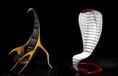 Zoomorphic Collection from French company Wild Design (Thierry Chantrel and Christophe Robinet)