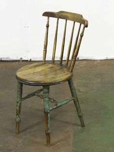 Antique wooden chair   Repop