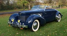 For classic car fans, the short-lived Cord brand that produced a total cars between 1929 and 1937 is one of the best American classics. Cord Automobile, Automobile Companies, New Sports Cars, Sport Cars, George Harrison, Dream Cars, Auburn Car, Super Fast Cars, Super Car
