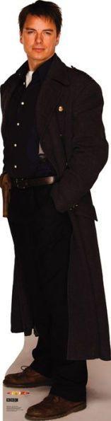 Doctor Who Captain Jack Cardboard Standup