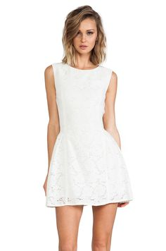 MINKPINK Sister Savior Lace Dress in White from REVOLVEclothing