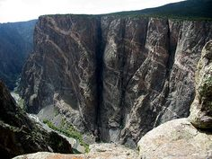 Painted Wall: Black Canyon of the Gunnison National Park, Montrose County, Colorado