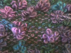 Looks like a fun stitch - Ravelry: Linen Blossoms Cowl pattern by Cassie Nichols (free download).