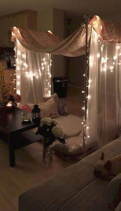 Date night- indoor picnic. Made by me and solely me Date night- indoor picnic. Made by me and solely me Romantic Room Decoration, Decoration Bedroom, Room Decoration For Birthday, Decoration Party, Decor Room, Cute Date Ideas, Birthday Surprise Boyfriend, Husband Birthday, Birthday Surprises