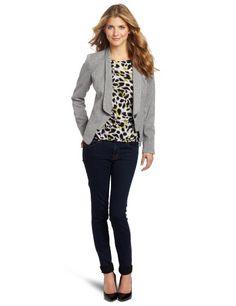 Anne Klein Women's Petite Tweed Jacket