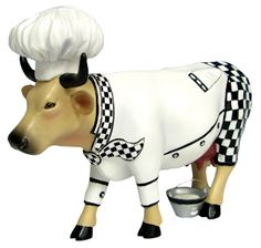Chef Cow would be cute in my kitchen