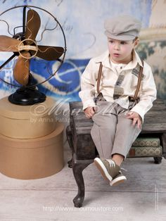 Christening clothes for boys by Anna Patapi #moumou #annapatapi #childrenswear #style #vintage #babyclothes #collection2014