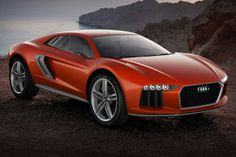 Audi Nanuk Quattro Concept. This Audi boasts a twin-turbocharged V-10 diesel TDI engine that outputs 544 horsepower and a staggering 738 pound-feet of torque.