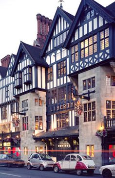 Liberty, London, United Kingdom...I love these old buildings in the centre of London