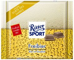 RITTER SPORT Fake Schokolade Sorte Freibier