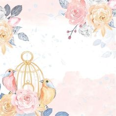 innouf Profiles on PicsArt Floral Wallpaper Iphone, Flower Background Wallpaper, Background Images Wallpapers, Rose Wallpaper, Flower Backgrounds, Wallpaper Backgrounds, Watercolor Flower Wreath, Decoupage Printables, Drawing Wallpaper