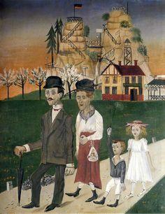 Otto Dix, Sonntagsspaziergang (Sunday Walk), 1922