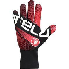 Castelli Diluvio Light Glove Black/Red XXL