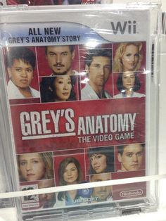 Funny pictures about The Most Unnecessary Video Game Ever. Oh, and cool pics about The Most Unnecessary Video Game Ever. Also, The Most Unnecessary Video Game Ever photos. Grey's Anatomy, Greys Anatomy Gifts, Bad Video, Owen Hunt, Entertainment Sites, Video Game Memes, Video Games, Grey Stuff, Cristina Yang