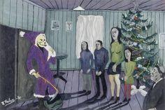 kalervo palsa | Santa Claus by Hugo Kalervo Palsa - Wallery