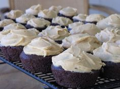 I've never tried this specific cupcake recipe, but I have tried the peanut butter frosting- delish!!!