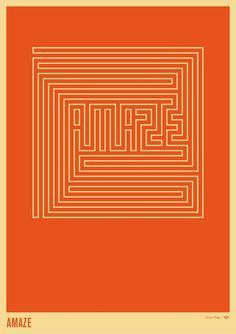 Amaze, an art print by Simon C Page - INPRNT