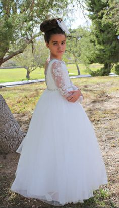 77 Best WHITE FIRST COMMUNION DRESS images in 2019  7ebcf0c61ab6