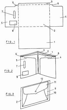 Plantilla para la confeccion de cartera-monedero (16 de abril de 1989).