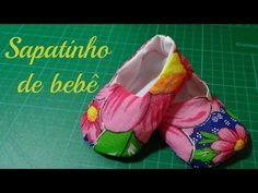 Como fazer o sapatinho (tênis ou botinha) - YouTube