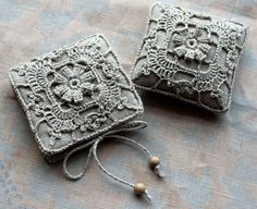 Pincushion & needle book by Namolio