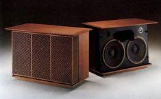 James B Lansing (now JBL) Olympus speakers Horn Speakers, Monitor Speakers, Diy Speakers, Stereo Speakers, Bluetooth Speakers, Altec Lansing, Speaker Box Design, Audiophile Speakers, Audio Sound