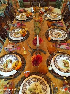 Tablescape Tuesday: Thanksgiving Traditions | Everyday Living