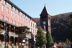 Location: Downtown Jim Thorpe.  Information: Saturdays and Sundays, Oct. 3-4, 10-11 and 17-18, 2015. Free music at four venues in the downtown; ticketed performance in the Mauch Chunk Opera House; vendors for foods, crafts and artwork.  Why it's on the list: Pennsylvania is a prime state for fall foliage, which usually presents its peak color from late September through late October. Several communities offer fall foliage celebrations. Jim Thorpe organizations have put together a high-end…