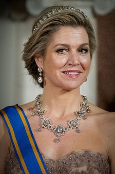 Maxima Of The Netherlands In Amsterdam On March 27, 2017 1