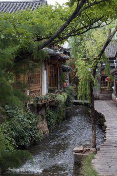 Street of #Lijiang in #Yunnan