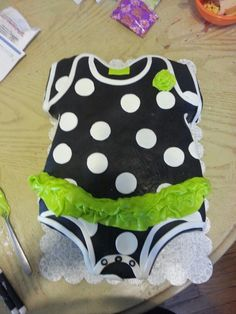 Baby Shower Onsie Cake