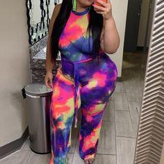 Plus Size Women Big Wave Print Cami Casual Off Shoulder T Shirt Top Reflective Vest Top