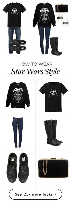 """Yay Star Wars"" by jordanloveofficial on Polyvore featuring Nudie Jeans Co., Vans, MICHAEL Michael Kors and Frame Denim"