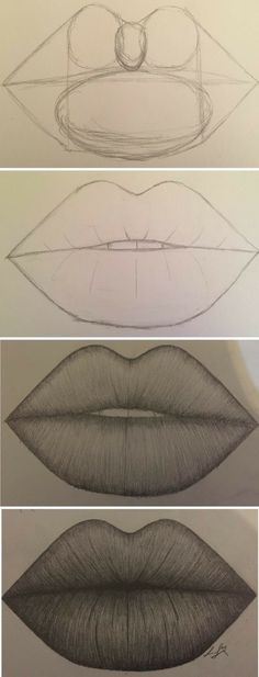 Amazing Lip Drawing Ideas & Inspiration · Brighter Crafts - Indispensable address of art 20 + Erstaunliche Lippenzeichnung Ideen & Inspiration · Helleres Handwerk – Indispensable address of art amazing lip drawing ideas & inspiration · brighter craft Pencil Art Drawings, Art Drawings Sketches, Cute Drawings, Animal Drawings, Simple Drawings, Amazing Drawings, Drawings Of Lips, Cute People Drawings, Beautiful Easy Drawings