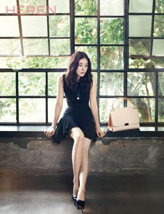 Lee Bo Young - Heren Magazine July Issue '14