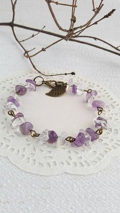 Check out this item in my Etsy shop https://www.etsy.com/listing/588055005/amethyst-bracelet-february-birthstone